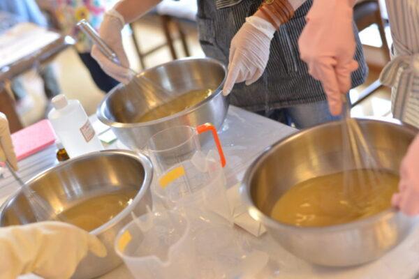 手作り石けん(Hand made soap)